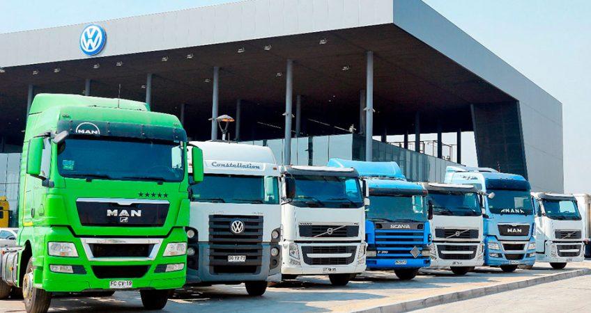 camiones usados chile
