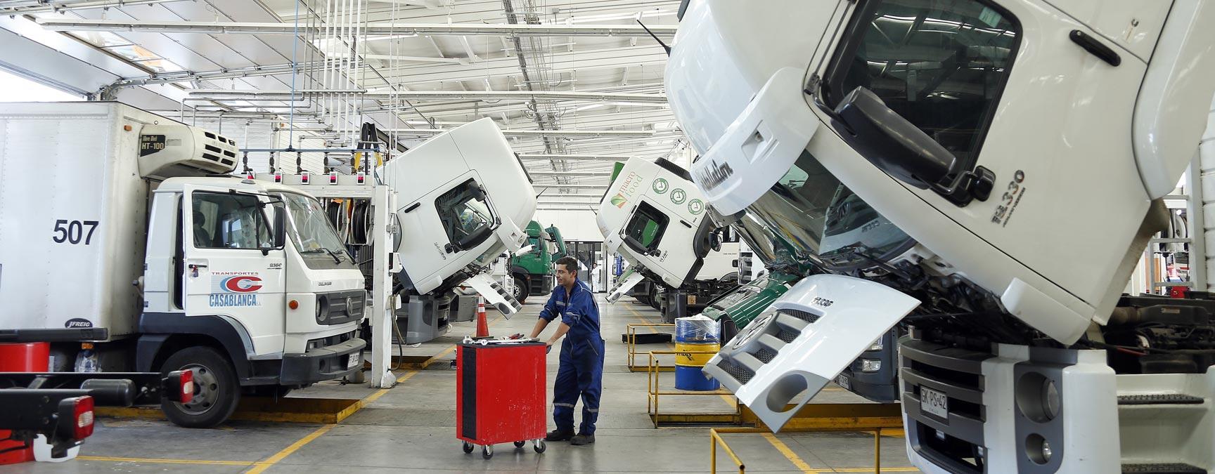 camiones usados servicio técnico